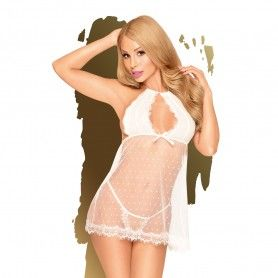 CHEMISE AND THONG CR-4211...