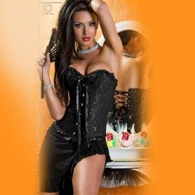 CORSET AND THONG CR-3101