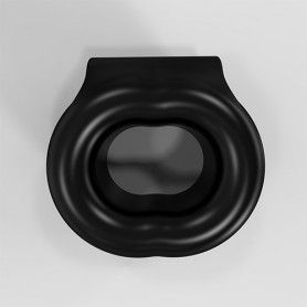INFINITY DOUBLE VIBRATING COCKRING BLACK - Sex Shop Sexy